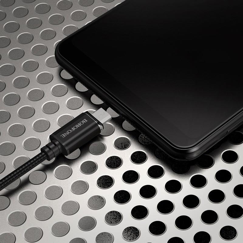 borofone bu1 magjet micro usb charging data cable phone