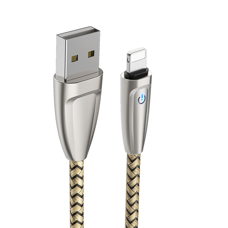 borofone bu3 blinkjet lightning usb charging data cable connectors