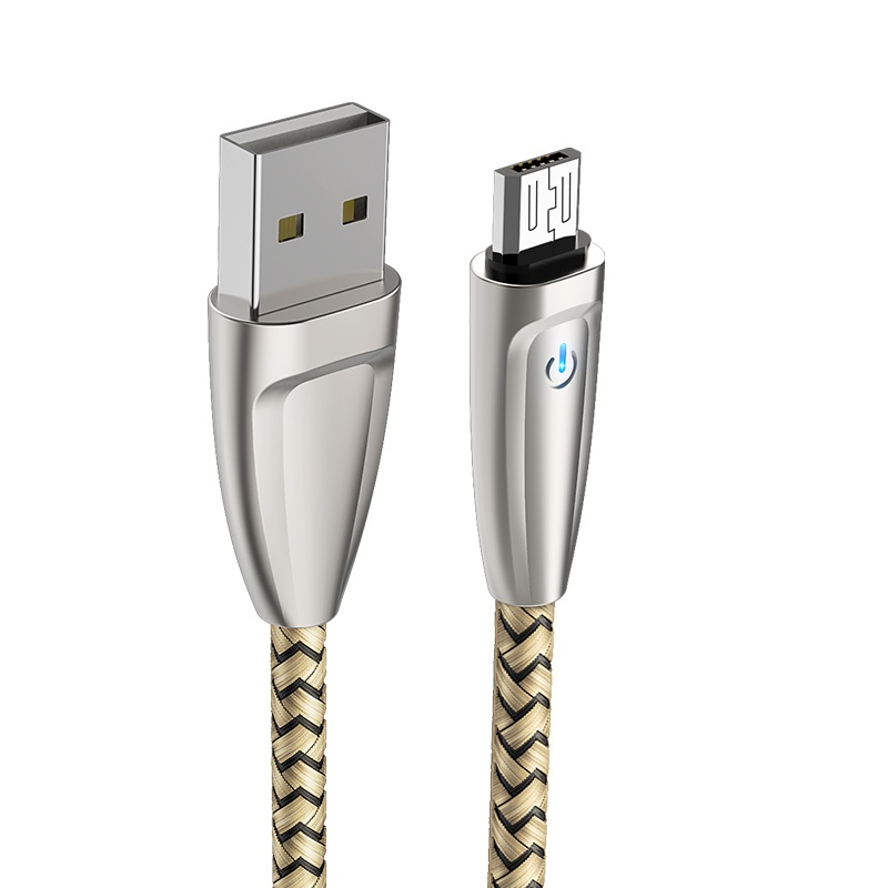 borofone bu3 blinkjet micro usb charging data cable connectors