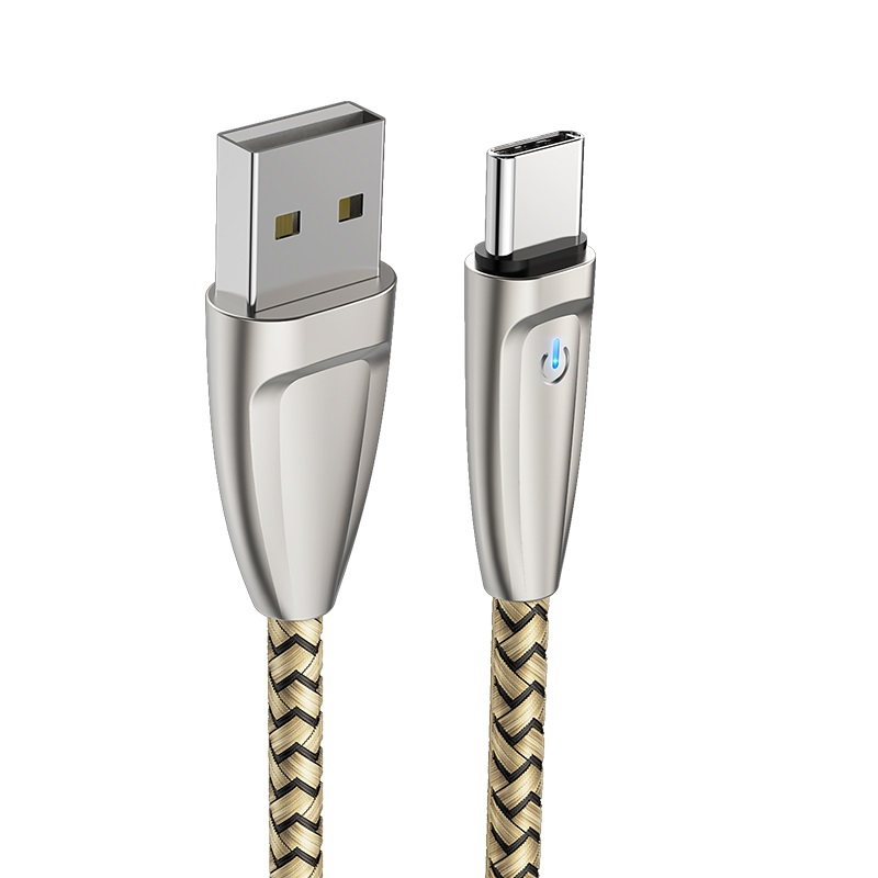 borofone bu3 blinkjet type c usb charging data cable connectors
