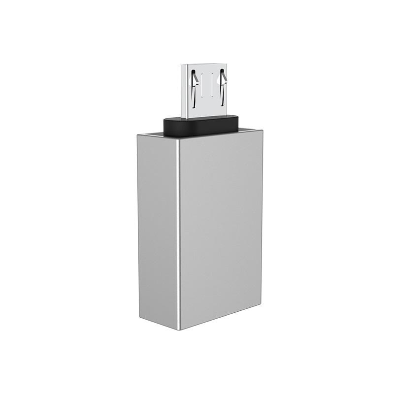 borofone bv2 usb to micro usb otg adapter back
