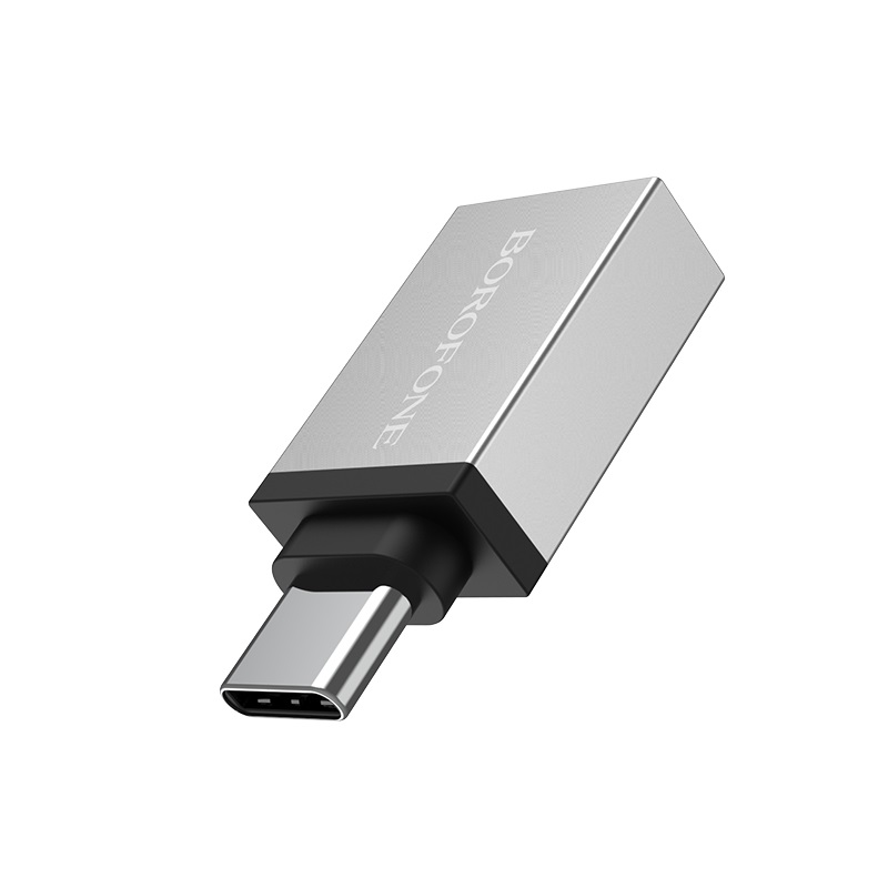 borofone bv3 usb to type c otg adapter