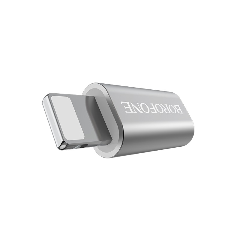 borofone bv5 micro usb to lightning adapter converter