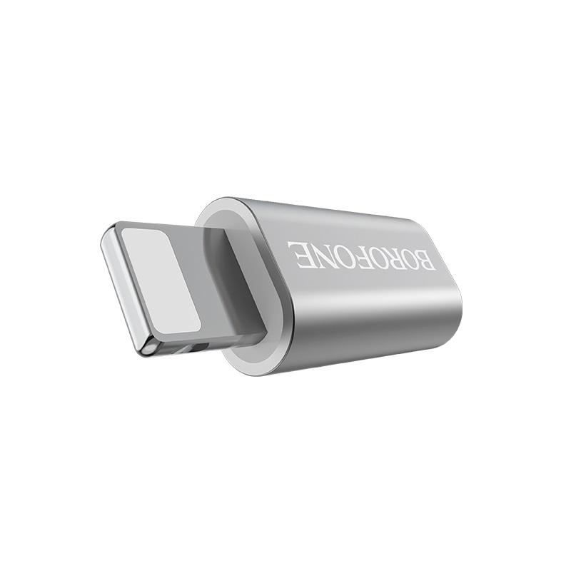 borofone bv5 micro usb to lightning adapter converter