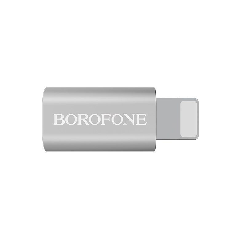 borofone bv5 micro usb to lightning adapter front