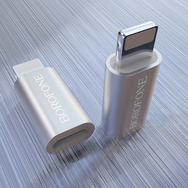 borofone bv5 micro usb to lightning adapter interior