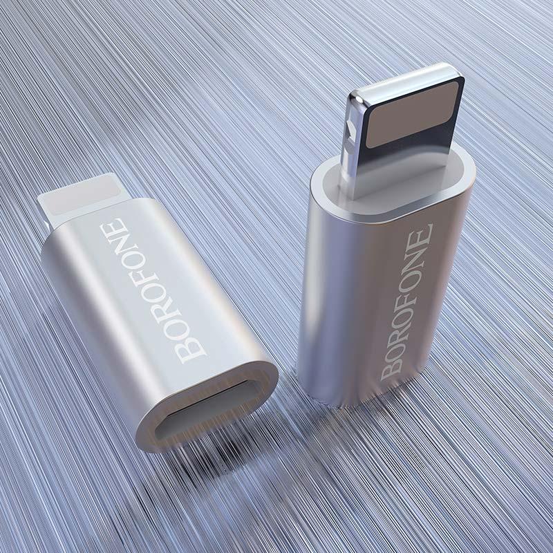 borofone bv5 micro usb to lightning adapter interior