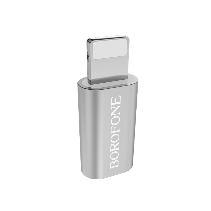 borofone bv5 micro usb to lightning adapter logo