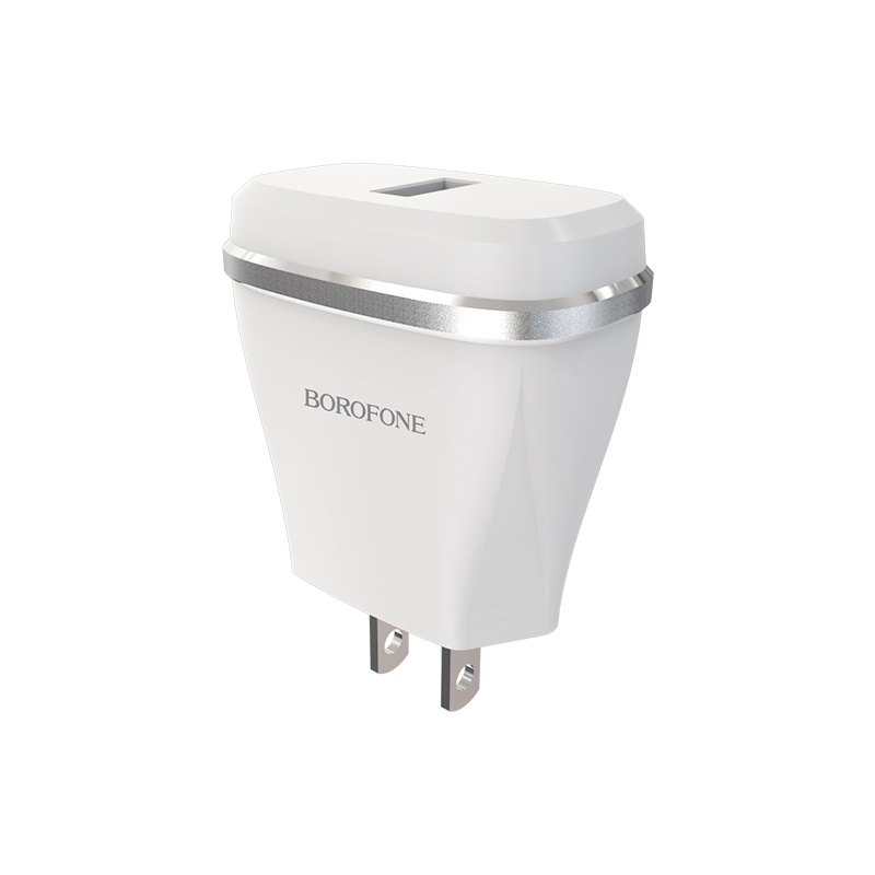 borofone ba1 joyplug single usb port charger us adapter