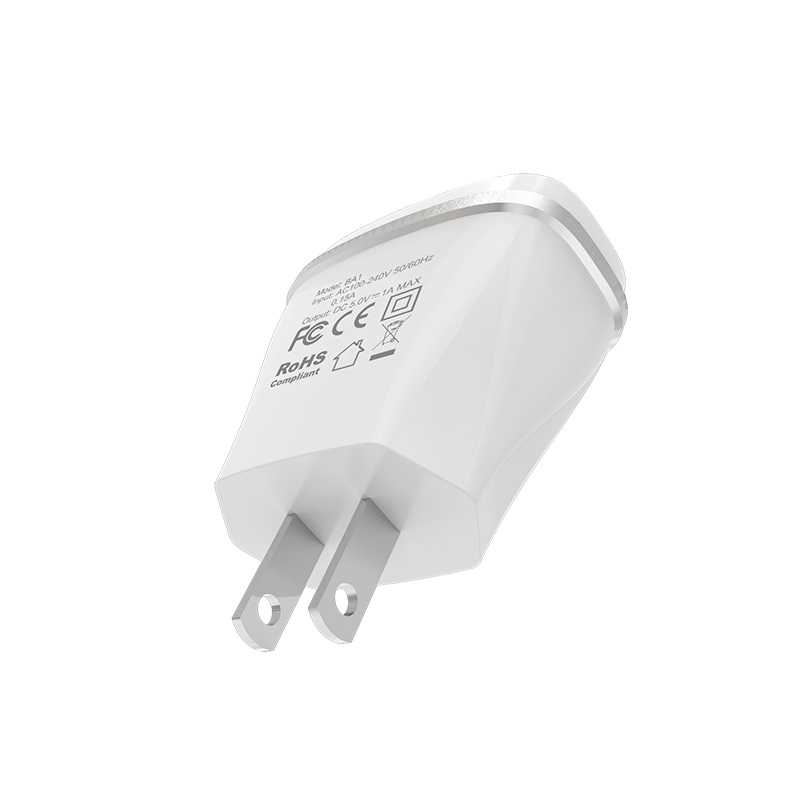 borofone ba1 joyplug single usb port charger us plug