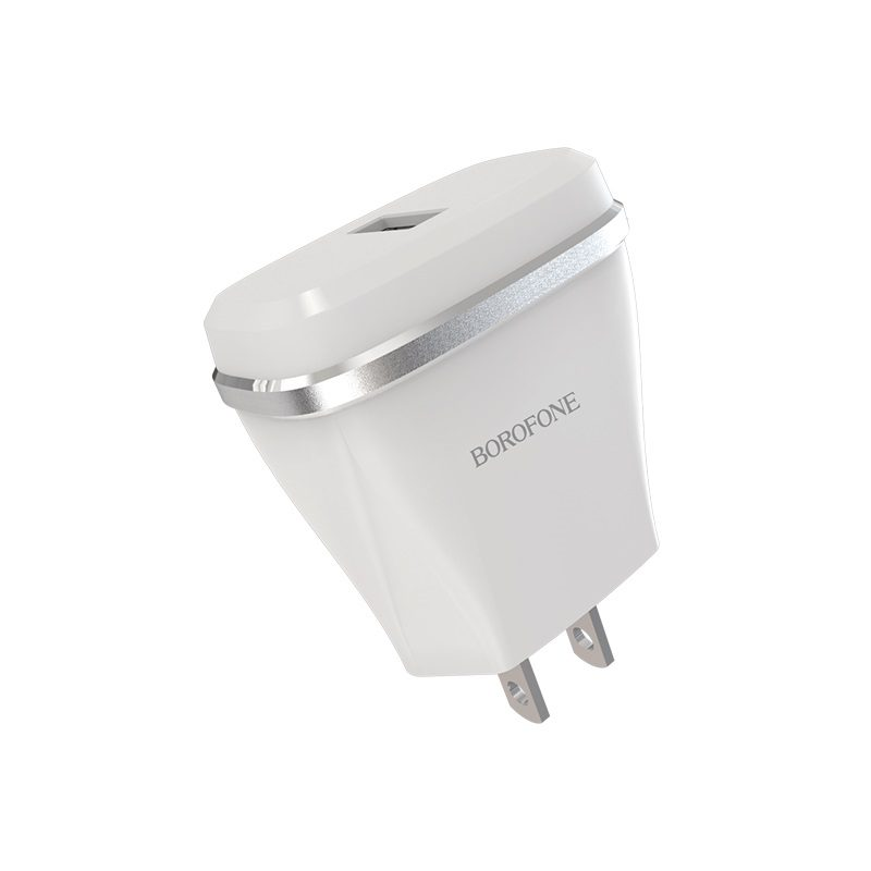 borofone ba1 joyplug single usb port charger us port