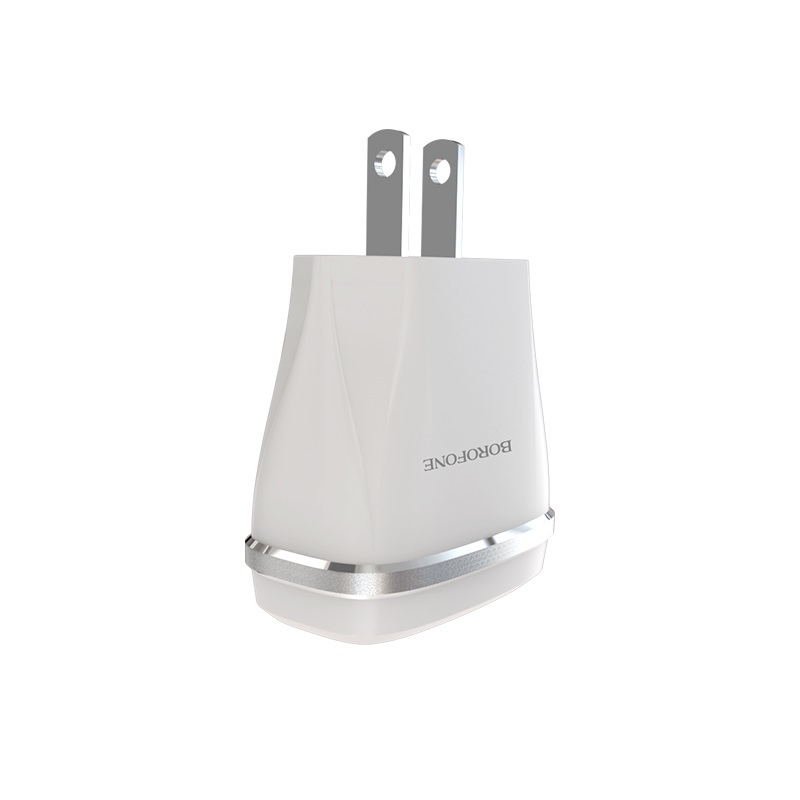 borofone ba1 joyplug single usb port charger us shape