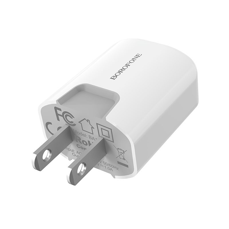borofone ba10 ezport single usb port charger us durable