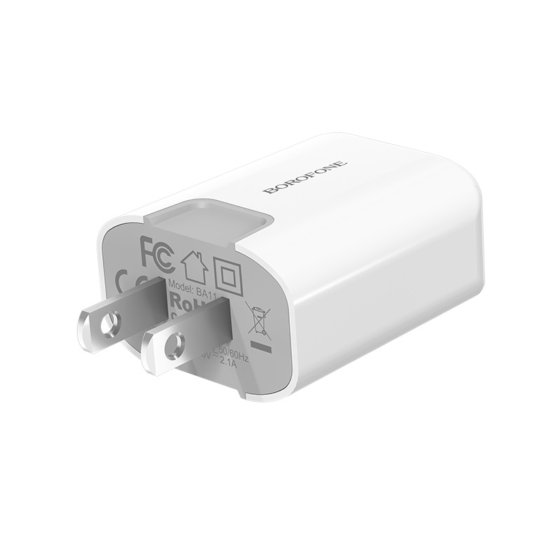 borofone ba11 funport single usb port charger us plug