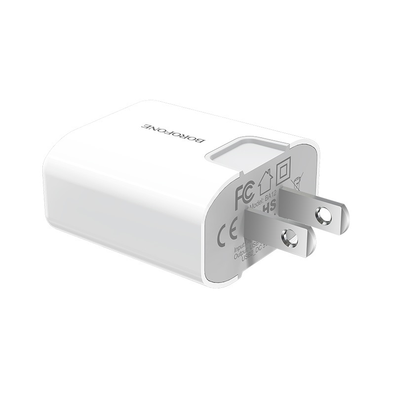 borofone ba12 uport double usb port charger us adapter