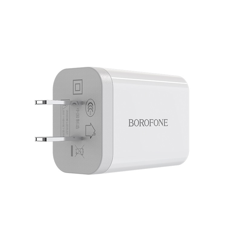 borofone ba13 miniport single usb port charger 3c durable