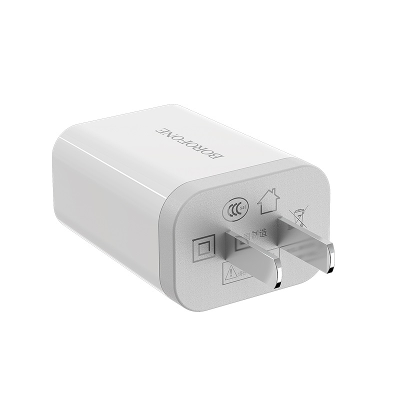borofone ba13 miniport single usb port charger 3c plug