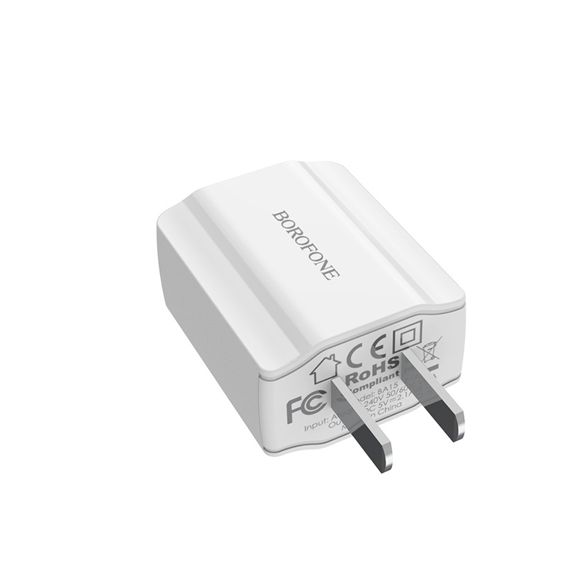 borofone ba15 smartport single usb wall charger cn durable