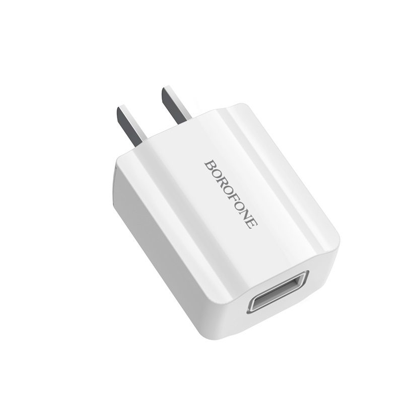 borofone ba15 smartport single usb wall charger cn port