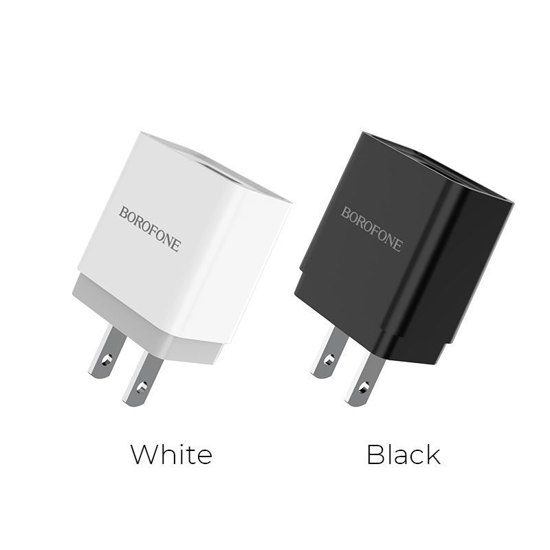 borofone ba19 nimble single usb port wall charger us colors