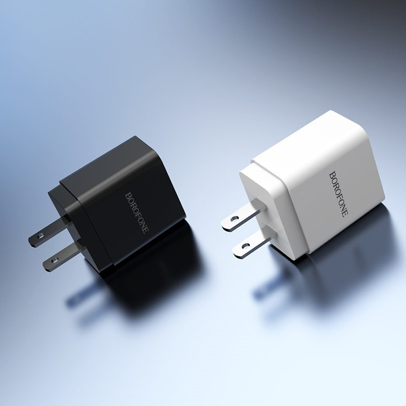 borofone ba19 nimble single usb port wall charger us overview