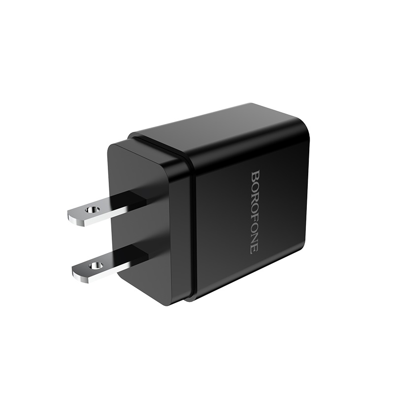 borofone ba19 nimble single usb port wall charger us plug