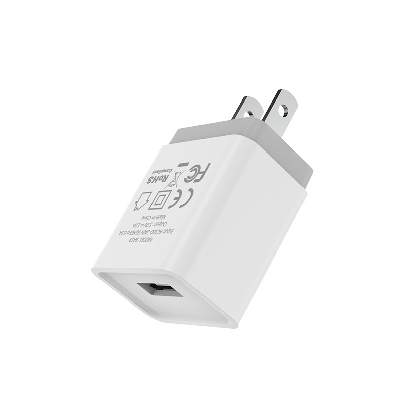 borofone ba19 nimble single usb port wall charger us shell