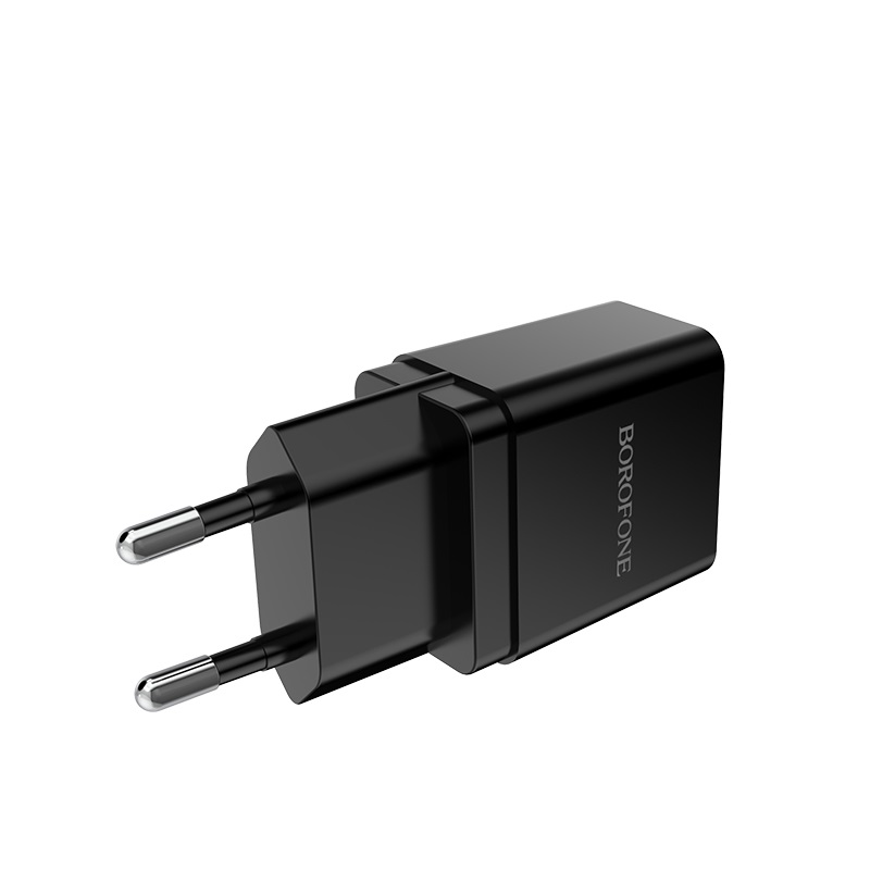 borofone ba19a nimble single usb port wall charger eu pins