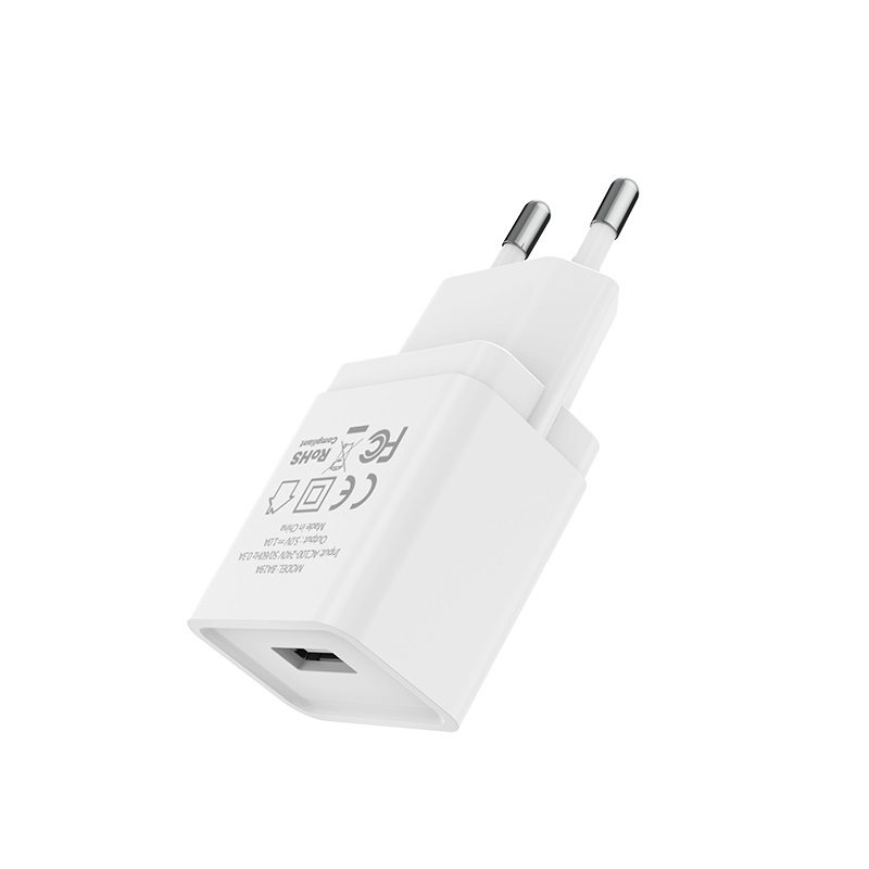 borofone ba19a nimble single usb port wall charger eu ports