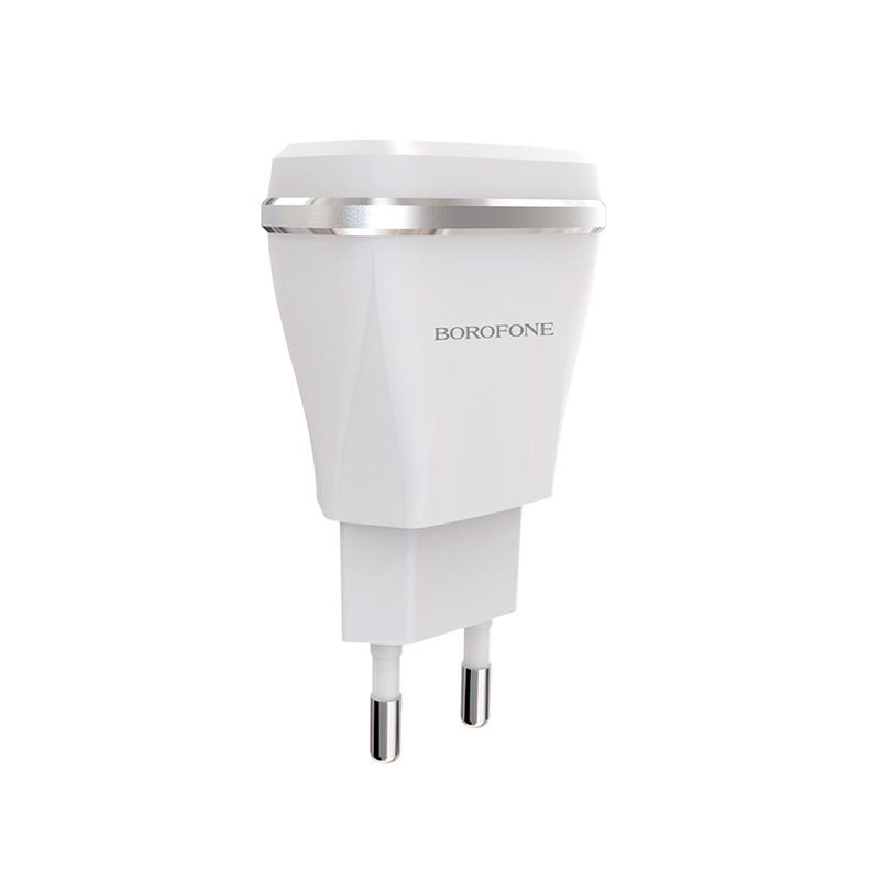 borofone ba1a joyplug single usb port charger eu overview