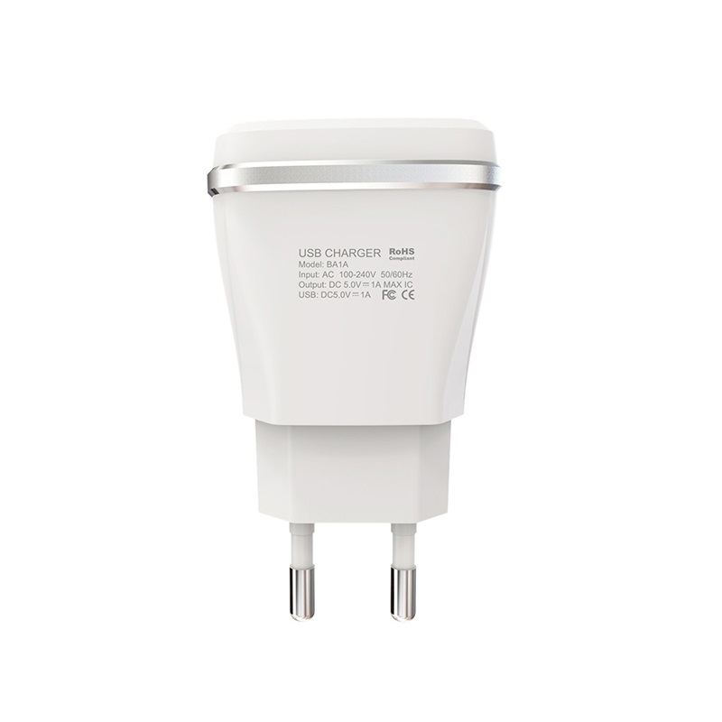 borofone ba1a joyplug single usb port charger eu pins