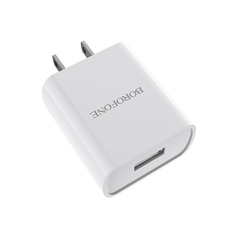 borofone ba20 sharp single usb port wall charger us adapter