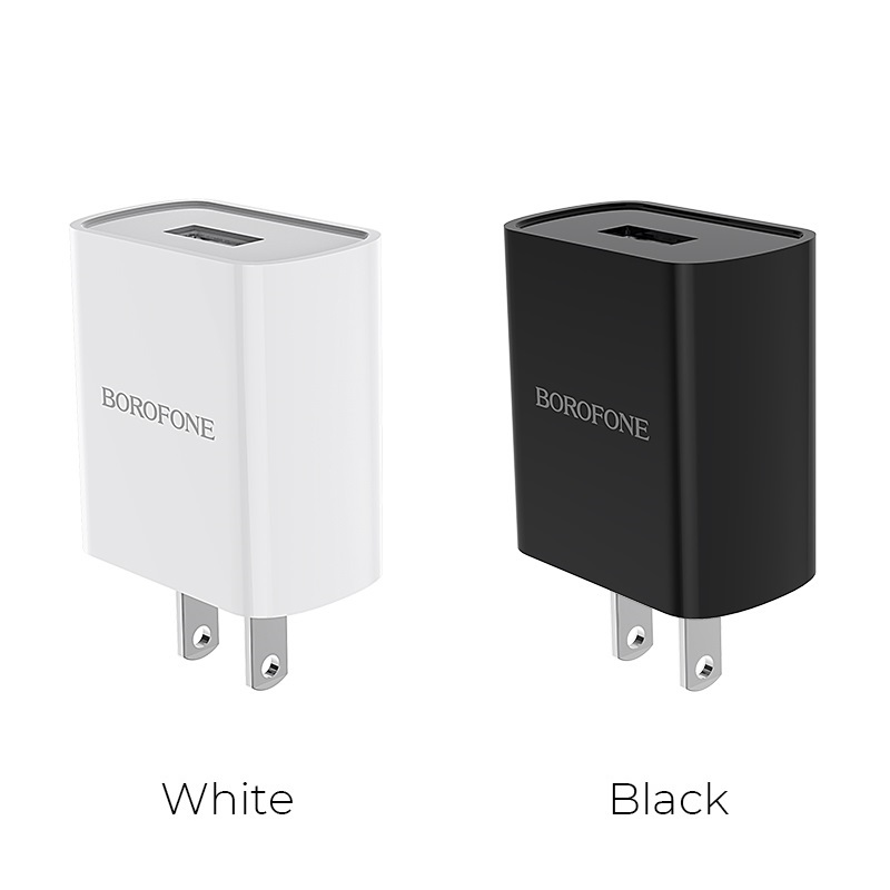 borofone ba20 sharp single usb port wall charger us colors