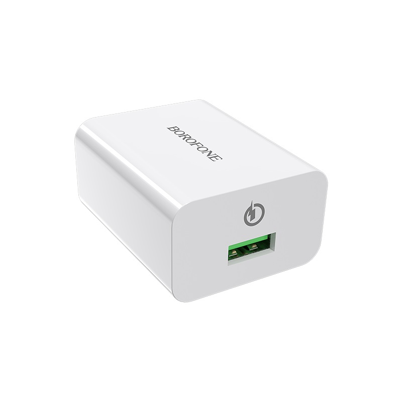 borofone ba21 long journey single usb port qc30 wall charger us ports