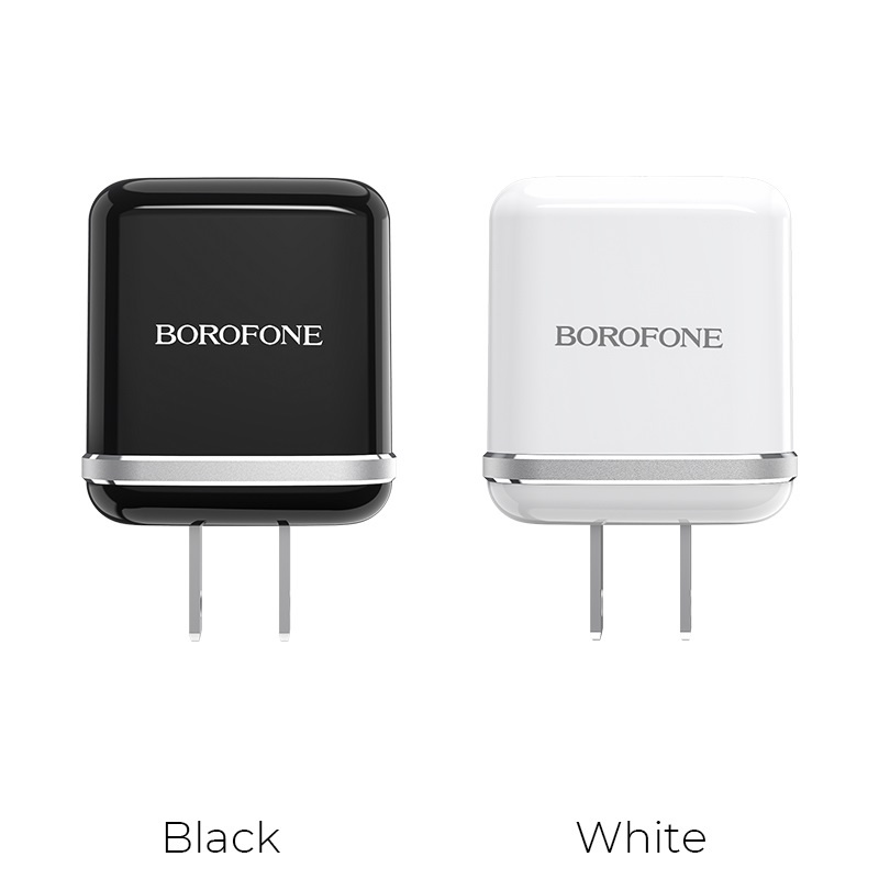 borofone ba25 outstanding dual usb port charger us colors