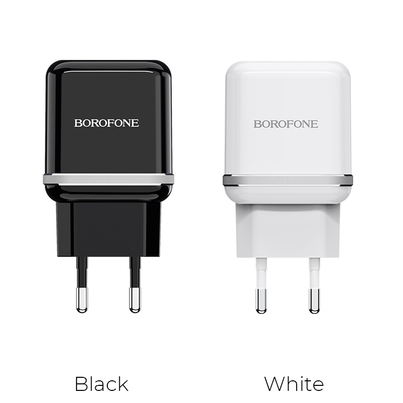borofone ba25a outstanding dual port charger eu colors