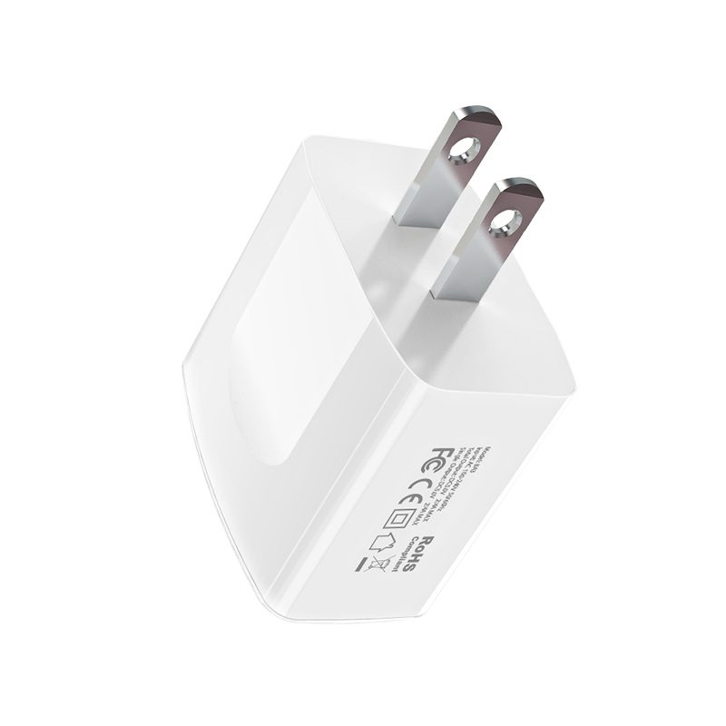 borofone ba3 ezplug double usb port charger us plug