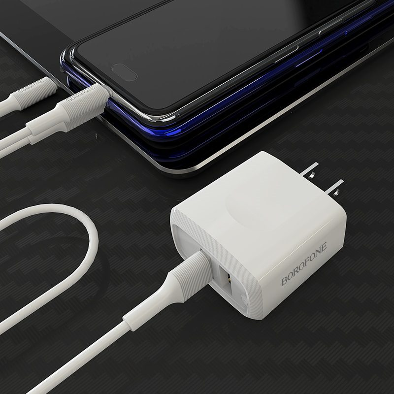 Wall charger BA3 Ezplug US set with cable
