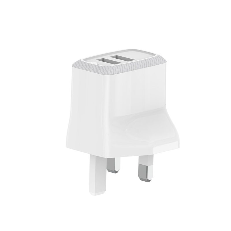 borofone ba3b ezplug double usb port charger uk charging