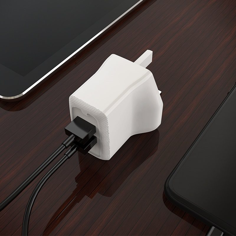 borofone ba3b ezplug double usb port charger uk overview