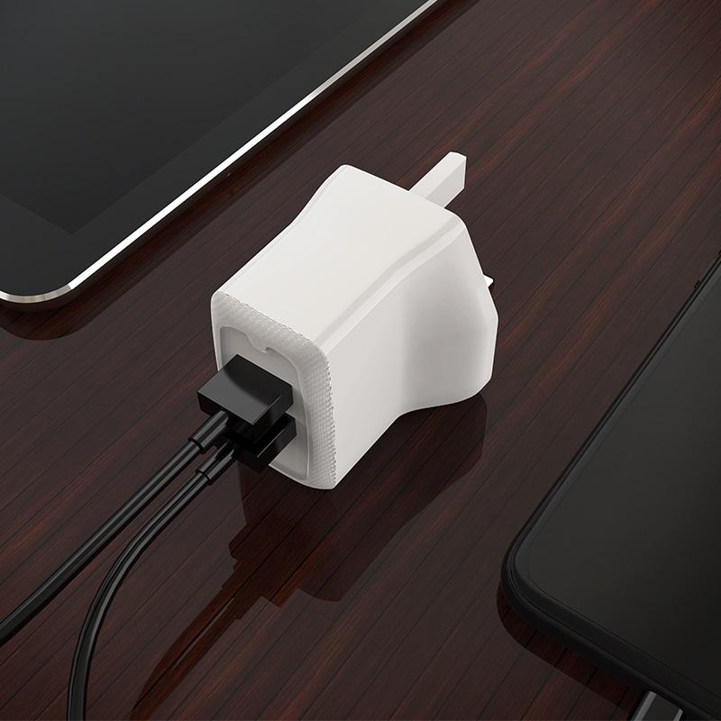 borofone ba3b ezplug double usb port charger uk overview
