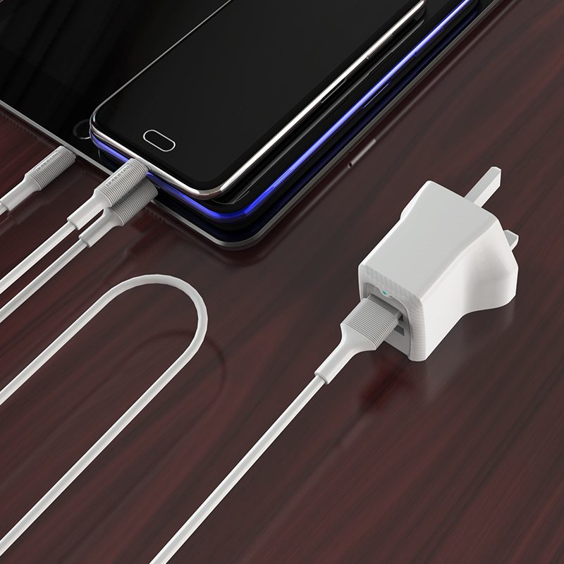 borofone ba3b ezplug double usb port charger uk phone