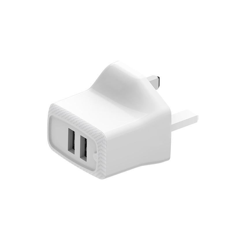 borofone ba3b ezplug double usb port charger uk ports