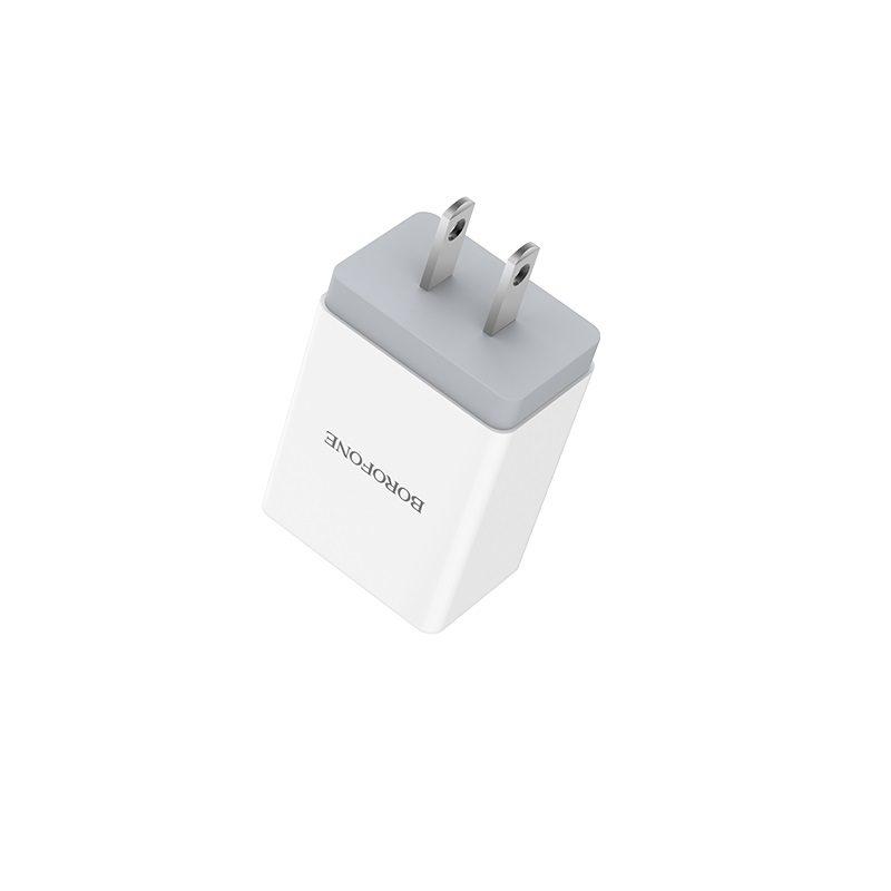 borofone ba5 fastplug qc30 single usb port charger us charging