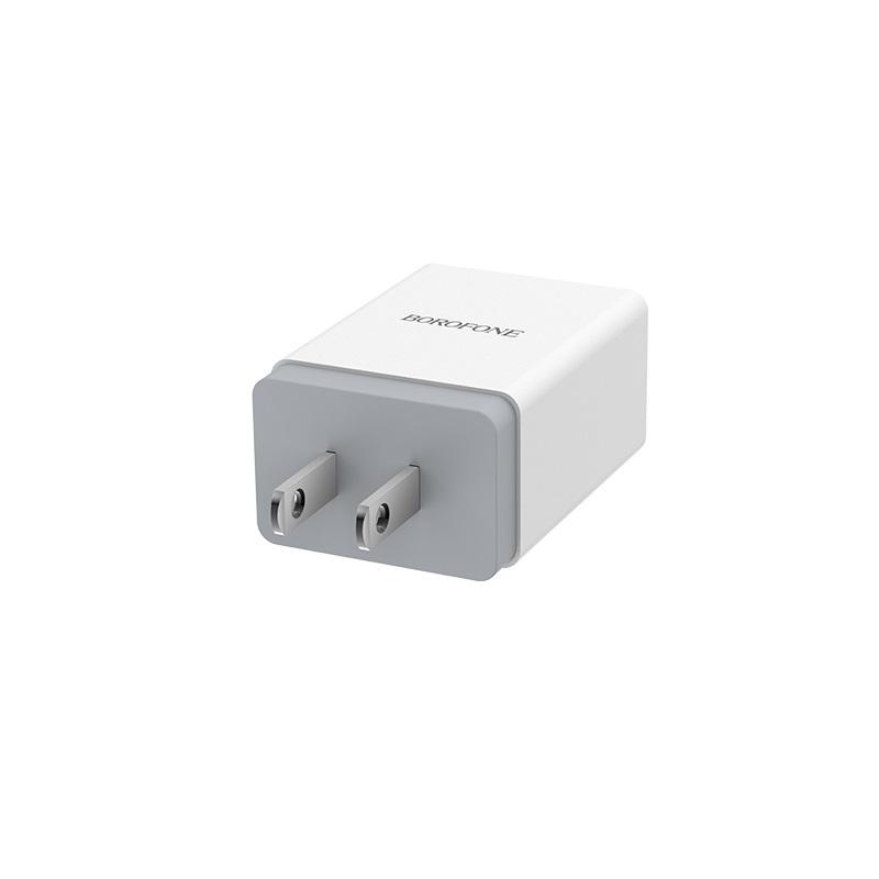 borofone ba5 fastplug qc30 single usb port charger us durable
