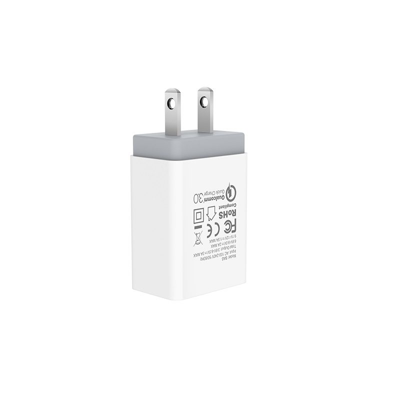 borofone ba5 fastplug qc30 single usb port charger us pins