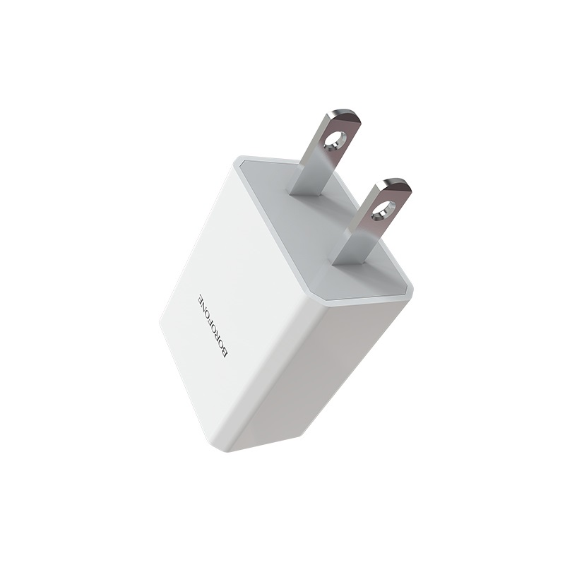 borofone ba6 powerplug single usb port charger us adapter