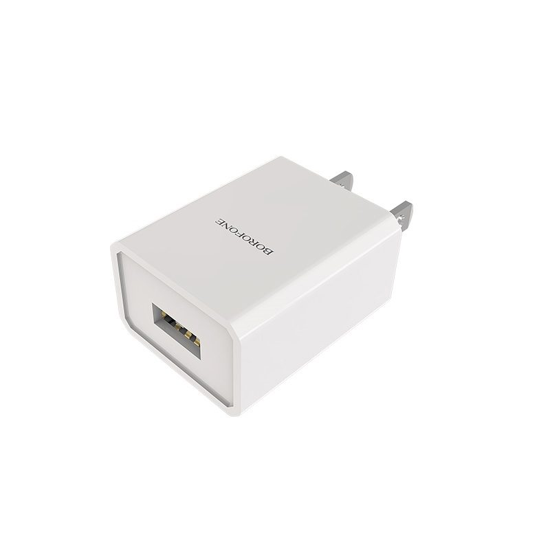 borofone ba6 powerplug single usb port charger us charging