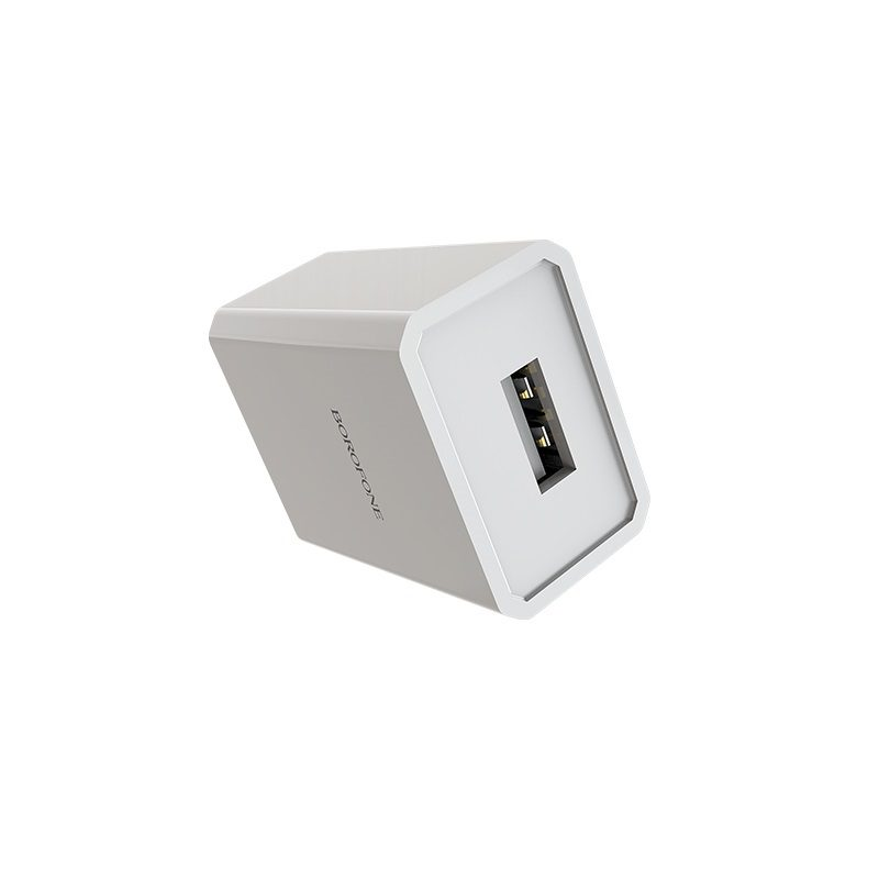 borofone ba6 powerplug single usb port charger us durable