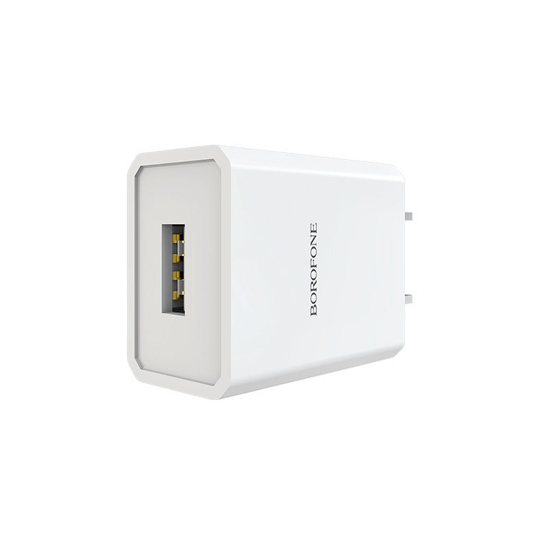 borofone ba6 powerplug single usb port charger us ports